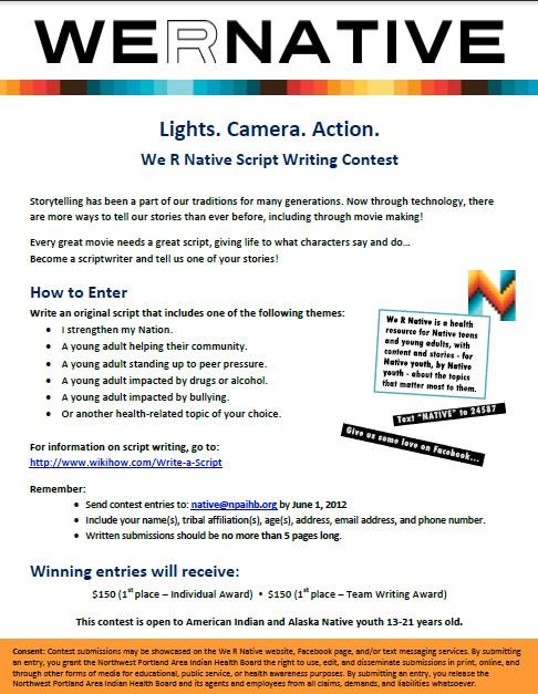 script writing contest custom paper help tfhomeworkalce