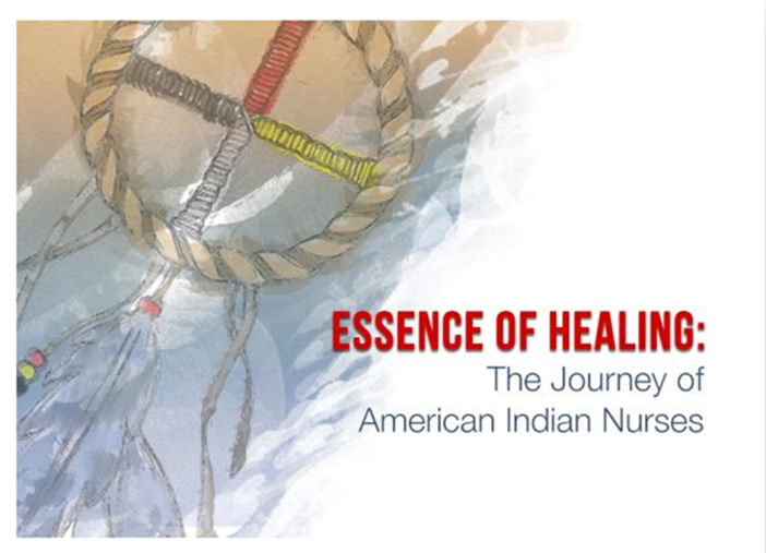 photo of promotional flyer for screening of Essence of Healing documentary